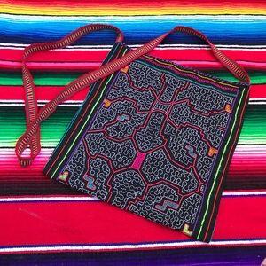 Vintage Embroidered Bohemian Shoulder Bag
